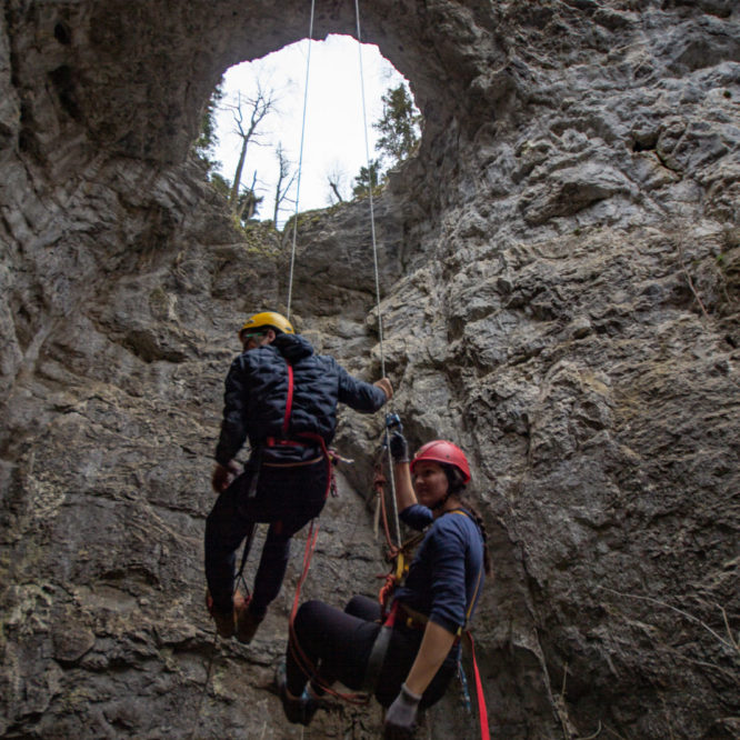Plezanje - Mali naravni most